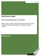Der Literaturexkurs im Tristan