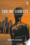 Sublime Subjects