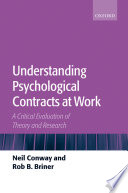 Understanding Psychological Contracts at Work