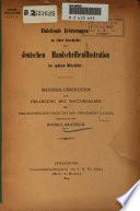 Einleitende Erörterungen zu einer Geschichte der deutschen Handschriftenillustration im späteren Mittelalter