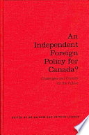 An Independent Foreign Policy For Canada