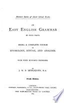 An Easy English Grammar