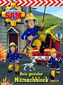 Feuerwehrmann Sam Mitmachblock