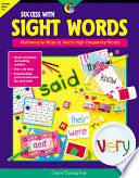 Success with Sight Words, eBook Multisensory Ways to Teach High-Frequency Words
