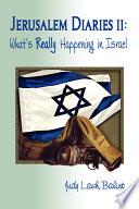 Jerusalem Diaries II : parts of the city; to jerusalem...