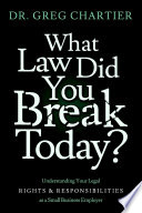 Which Law Did You Break Today