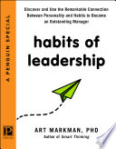 Habits Of Leadership