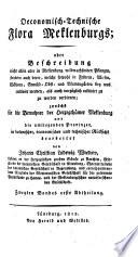 Oeconomisch-technische Flora Meklenburgs