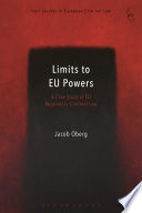 Limits to EU Powers