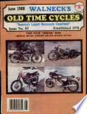 WALNECK S CLASSIC CYCLE TRADER  JUNE 1988