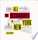 All the Restaurants in New York Book PDF