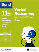 Bond 11   Verbal Reasoning  Assessment Papers