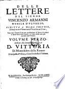 Dedicato alla Serenissima Altezza di D  Vittoria Di Montefeltro della Rouere Principessa d Vrbino  e Gran Duchessa di Toscana