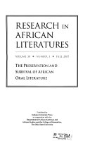 Research in African Literatures