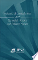 Professional Competencies For Generalist Hospice And Palliative Nurses