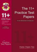 11  Practice Test Papers for the Cem Test