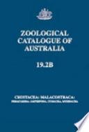 Zoological Catalogue of Australia Of Australia Database Taxa In The