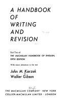 A handbook of writing and revisi  n