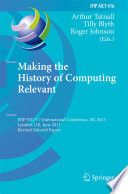 Making the History of Computing Relevant