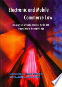 Electronic and Mobile Commerce Law