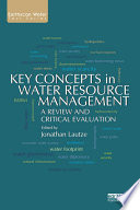 Key Concepts in Water Resource Management