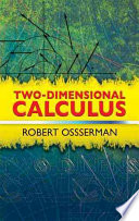Two Dimensional Calculus