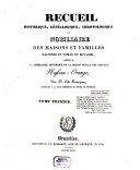 download ebook recueil historique, généalogique, chronologique et nobiliaire des maisons et familles illustres et nobles du royaume nassau-orange pdf epub