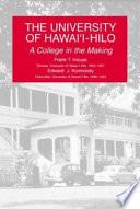 The University of Hawai'i--Hilo