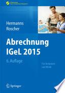 Abrechnung IGeL 2015