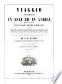 Viaggio pittoresco in Asia ed in Africa