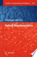 Hybrid Metaheuristics book