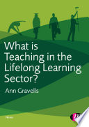 What is Teaching in the Lifelong Learning Sector