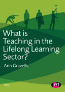 What is Teaching in the Lifelong Learning Sector?