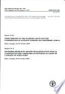 illustration Rapport de la Troisième Réunion Du Groupe de Planification Pour la Coordination Des Campagnes Acoustiques Au Large de L'Afrique Du Nord-Ouest, Dakar Sénégal, 22-23 Octobre 2004