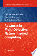 Advances in Multi Objective Nature Inspired Computing