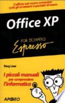 Office Xp Espresso For Dummies