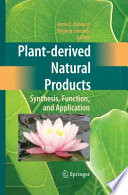 Plant derived Natural Products