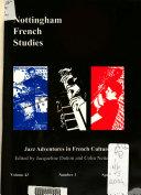 Nottingham French Studies