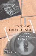 Practising Journalism