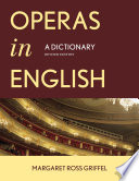 Operas In English