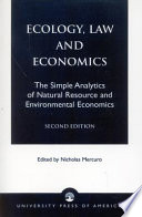 Ecology  Law and Economics
