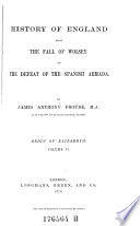 Reign of Elizabeth   Volume VI