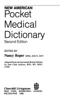 New American Pocket Medical Dictionary