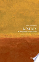 Deserts  A Very Short Introduction