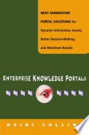 Enterprise Knowledge Portals