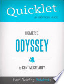 Quicklet on Homer s Odyssey  CliffsNotes like Book Summary