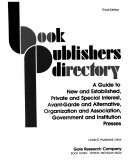 Book Publishers Directory Interest Avant Garde And Alternative Organization And