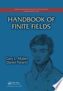 Handbook of Finite Fields