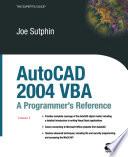 AutoCAD 2004 VBA