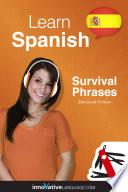 Learn Spanish Survival Phrases Spanish Enhanced Version